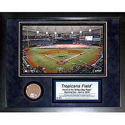 Steiner Sports Tropicana Field 11x14 Mini Dirt Collage - Thumbnail 0