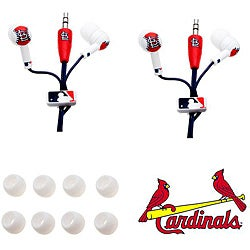 Nemo Digital MLB St. Louis Cardinals Earbud Headphones (Pack of 2)