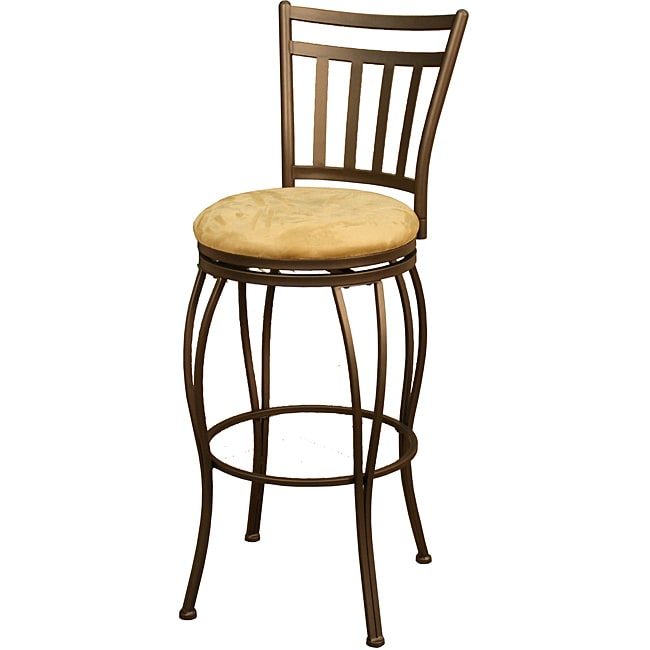 Tonto 24 Inch Topaz Metal Counter Stool Free Shipping