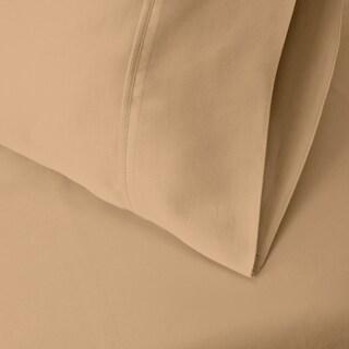 Superior 300 Thread Count Split King Deep Pocket Cotton Sateen Sheet Set (Option: Beige)