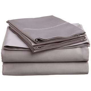 Superior 400 Thread Count Deep Pocket Cotton Sateen Sheet Set (More options available)