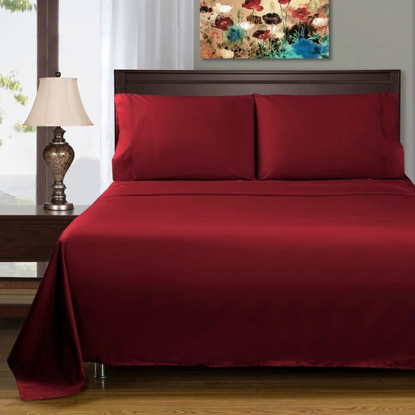 Superior 400 Thread Count Deep Pocket Cotton Sateen Sheet Set