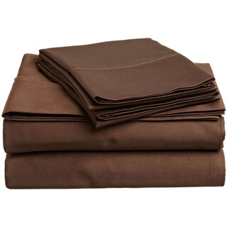 Superior 400 Thread Count Deep Pocket Cotton Sateen Sheet Set (5 options available)