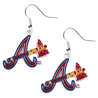 Atlanta Braves Dangle Logo Earrings