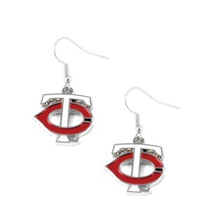 Minnesota Twins Dangle Logo Earrings