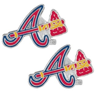 Atlanta Braves MLB Charm Post Stud Logo Earring Set