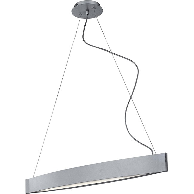 Sopra 2-light Silver Pendant