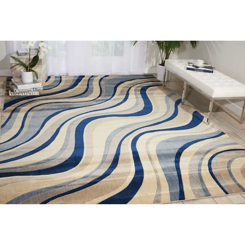 Nourison Somerset Wave Area Rug