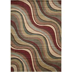 Nourison Somerset Beige Area Rug (7'9 x 10'10)|https://ak1.ostkcdn.com/images/products/5070757/Nourison-Summerfield-Waves-Beige-Geometric-Rug-79-x-1010-P12930559.jpg?impolicy=medium