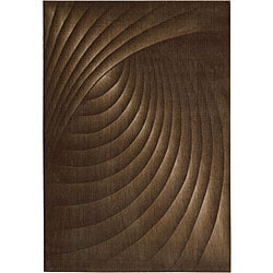 Nourison Somerset Brown Area Rug (5'6 x 7'5)