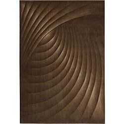 Nourison Somerset Brown Area Rug (5'6 x 7'5)