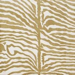 Alliyah Handmade Green New Zealand Blend Wool Rug (6' x 6') - 6'