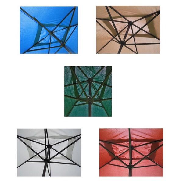 premium 10u0027 rectangular patio umbrella free shipping today - Rectangular Patio Umbrella