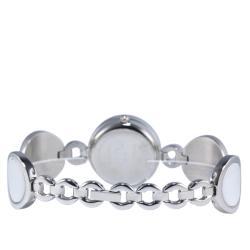 Haurex Italy Women's 'Seila Mia Vita' White Ceramic Watch - Thumbnail 2