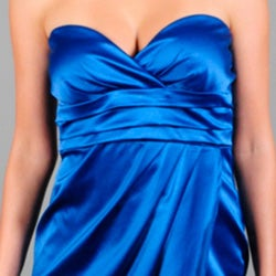 Wishes Junior's Strapless Sweetheart Dress