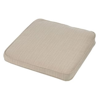 Link to Sunbrella Indoor/Outdoor Chair Cushion, Corded - 20 in w  x 20 in h Similar Items in As Is