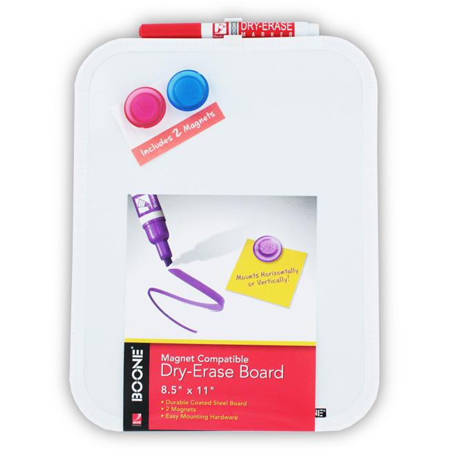 Boone Magnet Compatible 8.5 x 11-inch Dry Erase Board