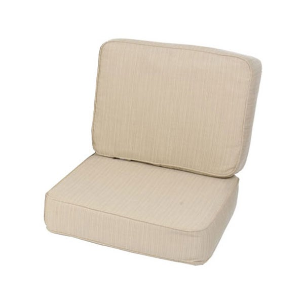 Kokomo Teak Lounge Chair Seat Back Cushion Set made with