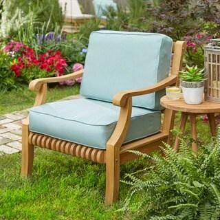 Kokomo Teak Lounge Chair Seat/ Back Cushion Set made with Sunbrella Fabric|https://ak1.ostkcdn.com/images/products/5072452/P12931764.jpg?_ostk_perf_=percv&impolicy=medium