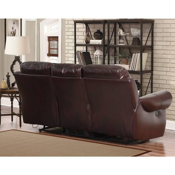 Miraculous Shop Abbyson Broadway Top Grain Leather Reclining 2 Piece Uwap Interior Chair Design Uwaporg