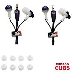 Nemo Digital MLB Chicago Cubs Earbud Headphones (Set of 2)
