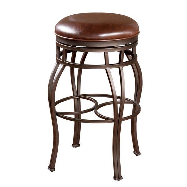 Delaware 26-inch Swivel Counter Stool