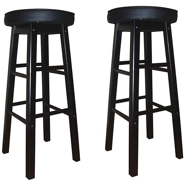 Shop Devers 30 Inch Bar Stools Set Of 2 Free Shipping Today