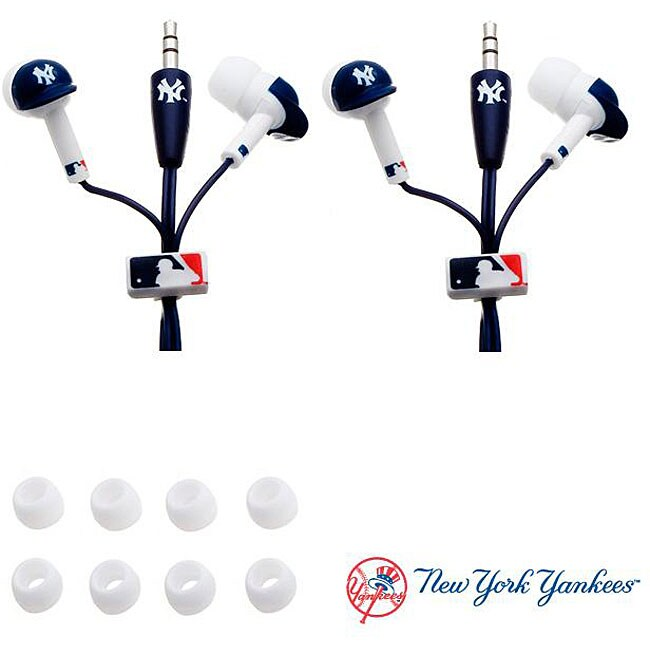 Nemo Digital MLB New York Yankees Earbud Headphones (Set of 2)