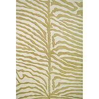 Alliyah Handmade Green New Zealand Wool Rug - 8' x 10'