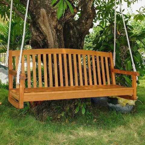 International Caravan Royal Tahiti 3-Seater Hanging Porch Swing