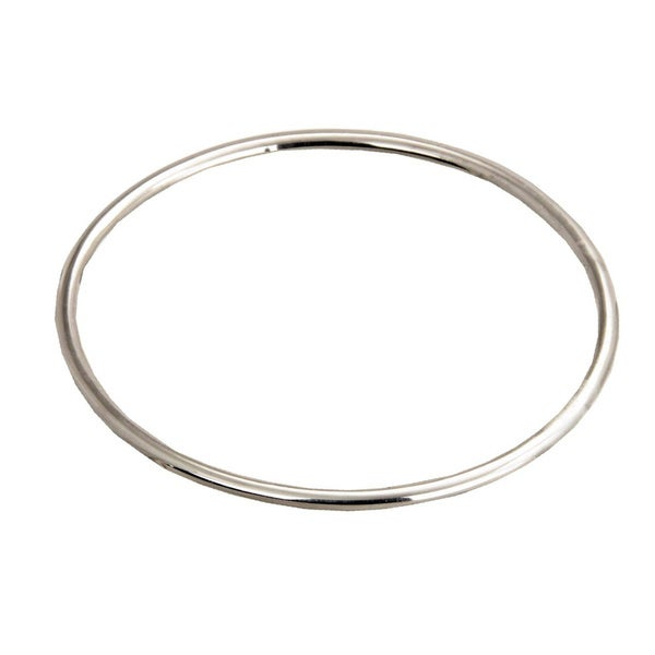 Sterling Silver 'moon Glow' Balinese Women's Bangle Bracelet (Indonesia) by Novica