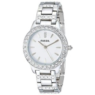 Fossil Women's ES2362 'Glitz' Crystal Stainless Steel Watch|https://ak1.ostkcdn.com/images/products/5074824/P12933725.jpg?impolicy=medium