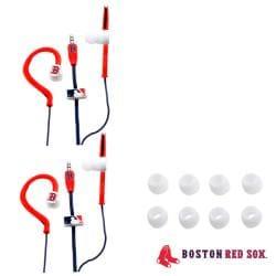 Nemo Digital MLB Boston Red Sox Jogger Earphones (Case of 2)