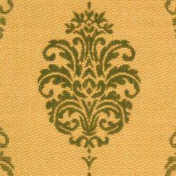 Safavieh St. Martin Damask Natural/ Olive Green Indoor/ Outdoor Rug (8' 11 x 12' ) - Thumbnail 2