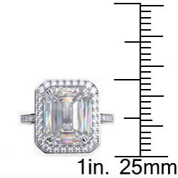 Danhov 18k Gold 5/8ct TDW Diamond and CZ Designer Ring (G, VS2)
