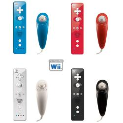 Wii - Wireless Remote Nunchuck Controller Combo - Thumbnail 1