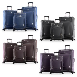 Olympia Skyhawk 3-piece Expandable Spinner Luggage Set