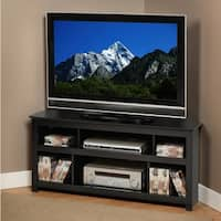 Prepac Broadway Black Corner Plasma/LCD TV Console