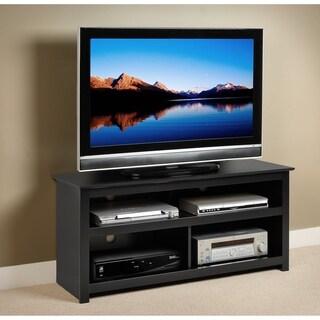 broadway black plasma lcd tv console