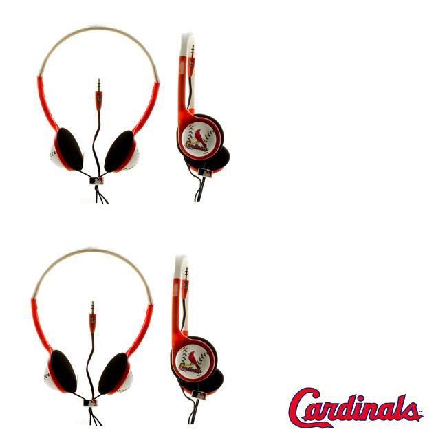 Nemo Digital MLB St. Louis Cardinals Overhead Headphones (Case of 2)