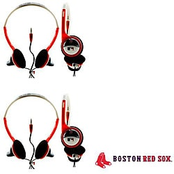 Nemo Digital MLB Boston Red Sox Overhead Headphones (Case of 2)