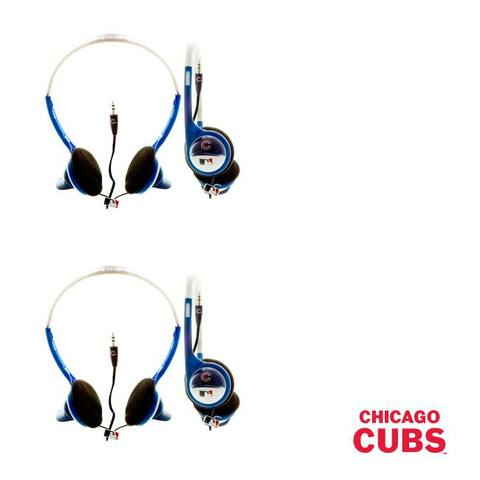 Nemo Digital MLB Chicago Cubs Overhead Headphones (Case of 2)