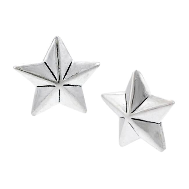 Journee Collection Sterling Silver Star Stud Earrings