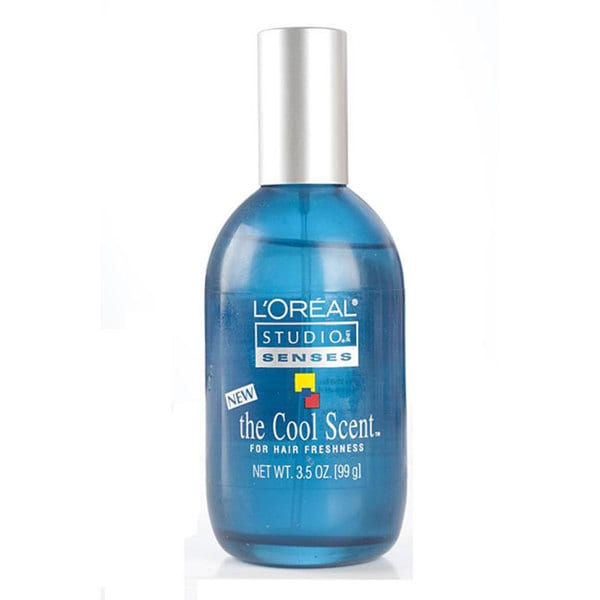 L'Oreal Studio Line Senses the Cool Scent for Hair Freshness 3.5-ounce (Pack of 4)