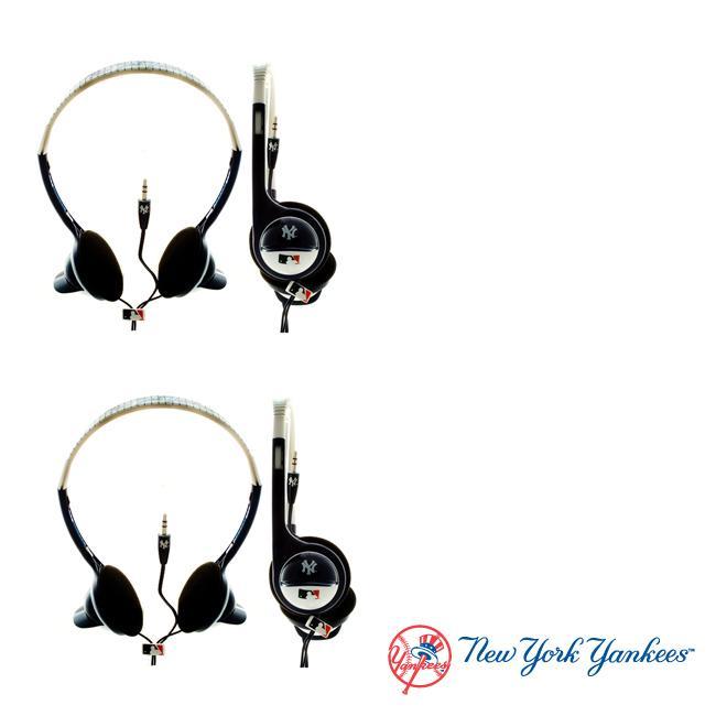 Nemo Digital MLB New York Yankees Overhead Headphones (Case of 2)