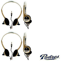 Nemo Digital MLB San Diego Padres Overhead Headphones (Case of 2)