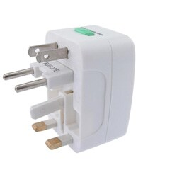 INSTEN Universal World-wide Travel Charger Adapter Plug (Pack of 5)