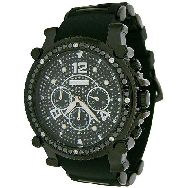 Joe Rodeo Men's JoJino Black Diamond Watch