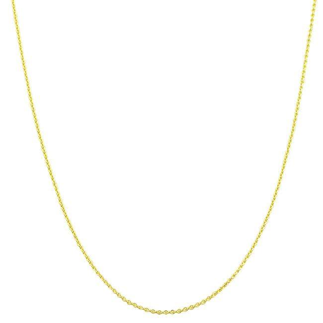 Fremada 18k Yellow Gold 18-inch Rolo Chain (1 mm)