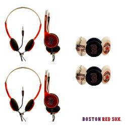 Nemo Digital MLB Boston Red Sox Headphones (Case of 2)